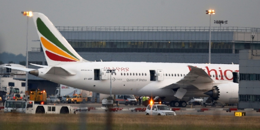 Aviation: Crash d'un avion de la compagnie Ethiopian Airlines