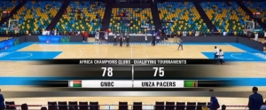 Basketball – Africa League: GNBC (Madagasikara) 78 # 75 UNZA Pacers (Zambia)